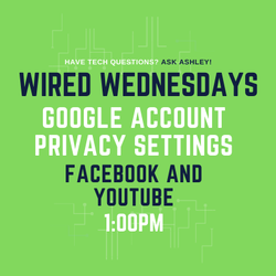 Wired Wednesdays Live: Google Account Privacy Settings (Video)