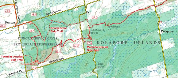 Kolapore Trails - Work Party