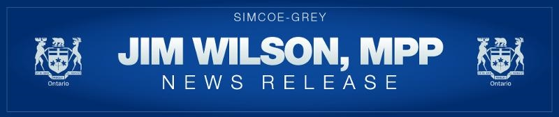 Canada and Ontario Invest in Simcoe-Grey Community and Recreation Projects