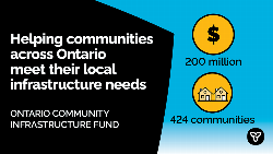 Ontario Investing $5.1 Million in Local Infrastructure in Simcoe-Grey