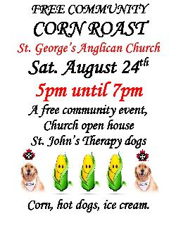St. George's Corn Roast