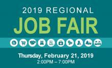 Region's largest job fair returns February 21