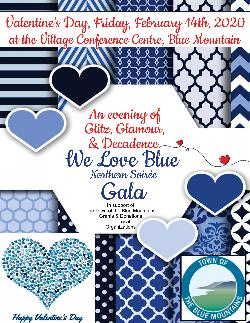 We Love Blue Gala - Friday February 14