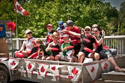 CANADA DAY IN THE BLUE MOUNTAINS
