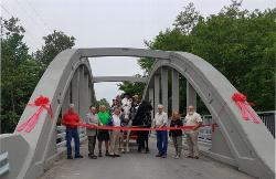 Clarksburg's Black Bridge Reopens After Preservation and Rehabilitation Efforts
