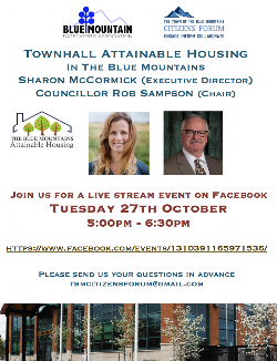 Virtual Town Hall Meeting - October 27