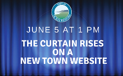 New Town Website Goes Live June 5th at 1 pm